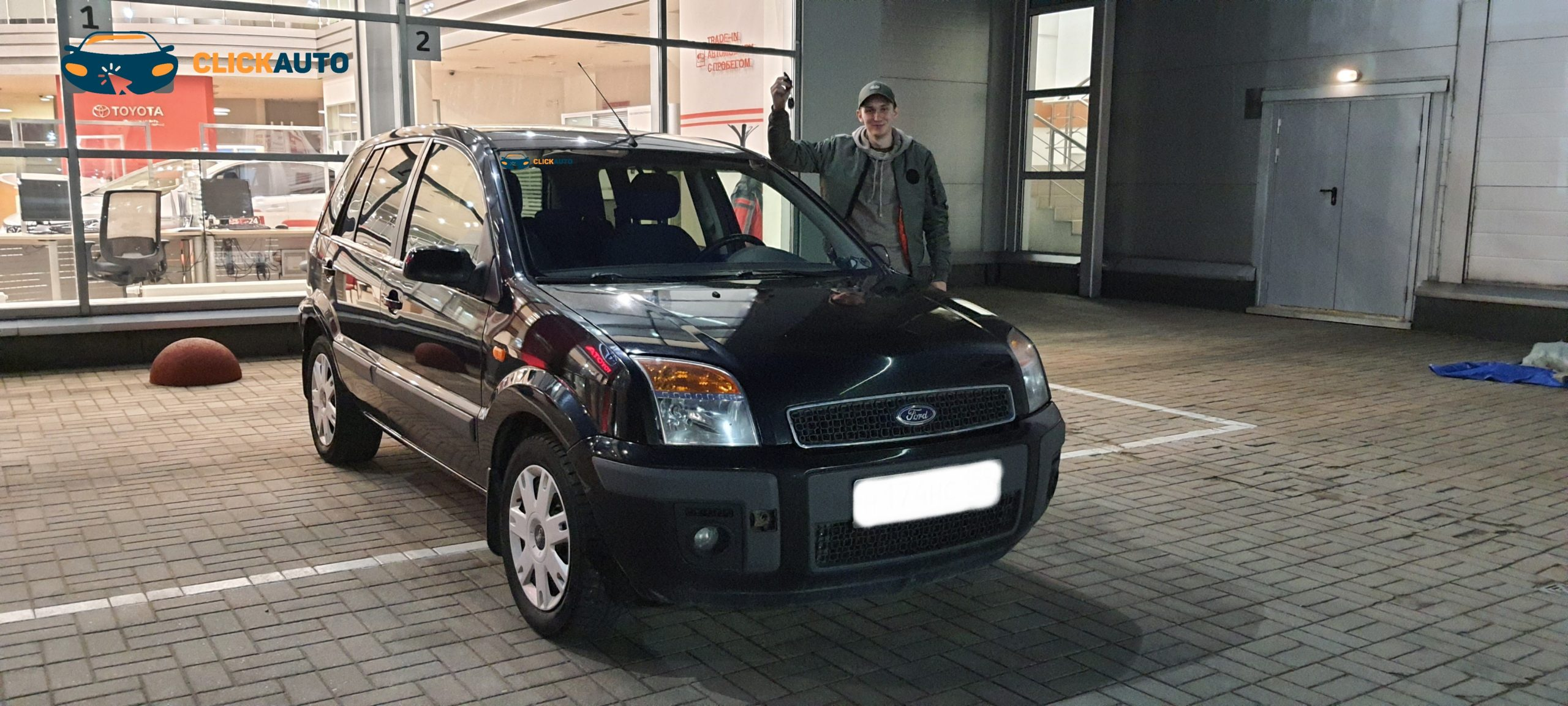 Автоподбор-Ford Fusion на механике